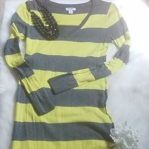Old Navy Striped Sweater Dress
